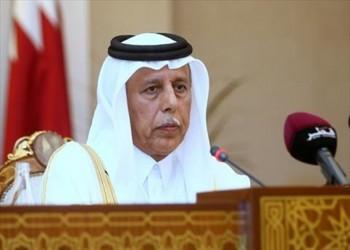 رئيس مجلس الشورى القطري يصل إلى القاهرة