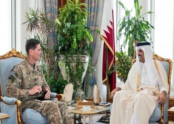 أمير قطر يناقش «مكافحة الإرهاب» مع قائد القيادة المركزية الأمريكية