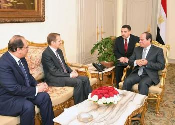 «السيسي» يبحث مع مسؤول روسي تعزيز التعاون الأمني
