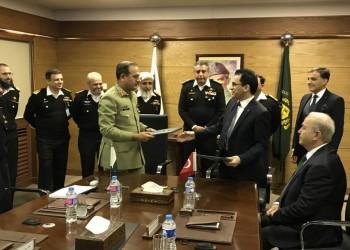 شركة تركية توقع اتفاقية تحديث غواصة باكستانية