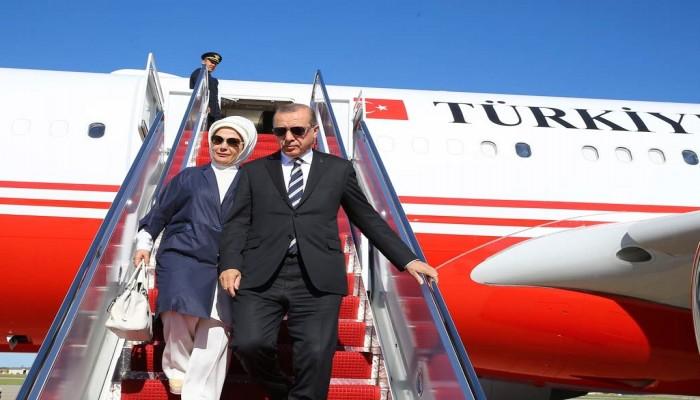 «أردوغان» يغادر الجزائر متوجها إلى موريتانيا