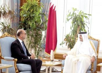 أمير قطر يستقبل وزير الخارجية الإيطالي بقصر البحر بالدوحة