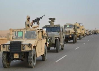 مقتل ضابطين وجنديين وإصابة 4 بالجيش المصري في سيناء