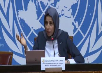 فيديو .. مسؤولة قطرية لصحفي إماراتي: هل لديك الحرية لنشر إجابتي؟