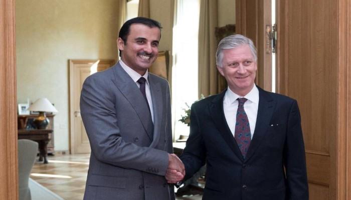 أمير قطر يختتم زيارته لبلجيكا بتوقيع عدد من الاتفاقيات