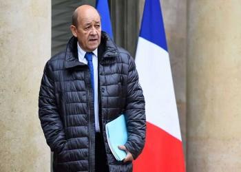 وزير خارجية فرنسا يتجاهل أسئلة حول بيع السلاح للسعودية والإمارات