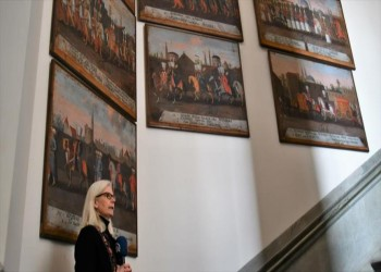 لوحات السلطان العثماني «محمد الرابع» درر مقتنيات متحف «نورديسكا» بأستوكهولم