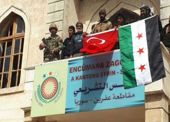 المشاهد الأولى من عفرين عقب سيطرة الجيش التركي عليها