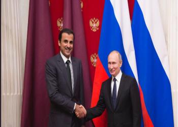 «تميم» و«بوتين» يبحثان التعاون في مجالات الطاقة والاقتصاد والدفاع