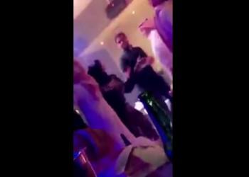 فيديو.. حفل راقص وأحضان خادشة للحياء في فندق سعودي