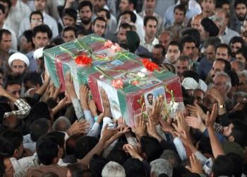 وصول جثامين 7 إيرانيين قتلوا في سوريا إلى طهران