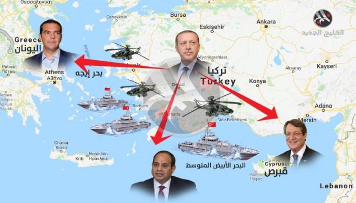 «المتوسط» وكعكة الغاز.. من يربح الصراع بين مصر واليونان وتركيا؟