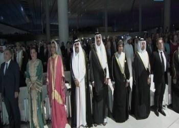 «تميم» يفتتح مكتبة قطر الوطنية.. ويودع الكتاب المليون رفوفها
