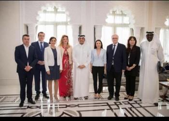 قطر تبحث مع وفد «الصداقة الأوروبية» تعزيز العلاقات المشتركة