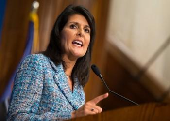 السفير الفلسطيني لدى الأمم المتحدة يصف «نيكي هايلي» بـ«الكاذبة»