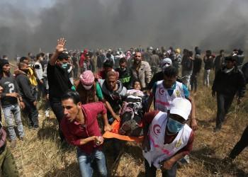 الجيش الإسرائيلي يصيب أكثر من 30 رياضيا خلال مسيرات العودة