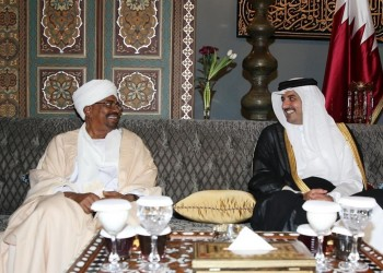 أمير قطر يبعث رسالة خطية إلى الرئيس السوداني