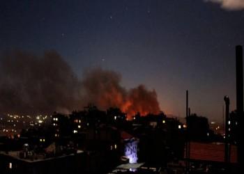 انفجارات قوية تهز قاعدة عمليات إيرانية جنوبي دمشق