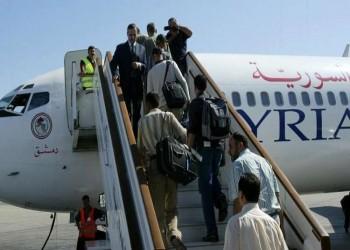الحكومة السورية تعلن استئناف الرحلات الجوية مع الإمارات