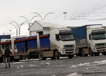 سائقو الشاحنات بإيران يواصلون إضرابهم لليوم السادس على التوالي