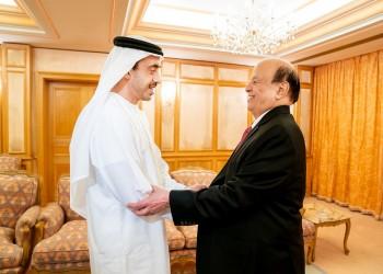 الرئيس اليمني يزور الإمارات بعد أشهر من الخلافات