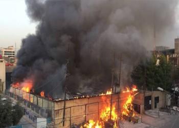 عن الحريق الذي أطاح بالانتخابات