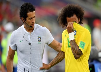 طبيب البرازيل: إصابة «مارسيلو» بسبب فراش الفندق