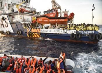 إيطاليا ترفض توفير إمدادات لسفن إنقاذ المهاجرين