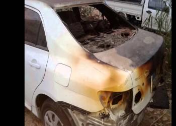 القبض على شخصين أحرقا سيارة امرأة بمكة وإحالتهما للنيابة