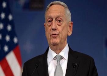 «ماتيس» ينفى التفكير حاليا في توجيه ضربة عسكرية لإيران