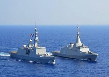 البحرية المصرية تنفذ تدريبات مع بريطانيا وفرنسا بالأحمر والمتوسط