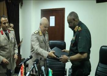 انطلاق الاجتماع الخامس للجنة العسكرية المصرية السودانية المشتركة