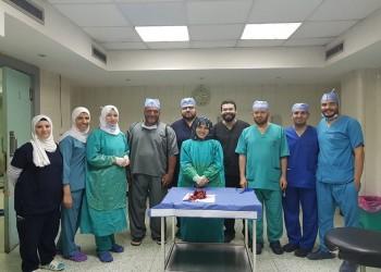 فريق طبي مصري يستأصل جنينا من بطن شقيقته