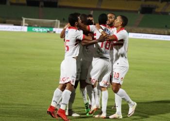 """رأسية """"كاسونجو"""" تقود الزمالك إلى صدارة الدوري المصري"""
