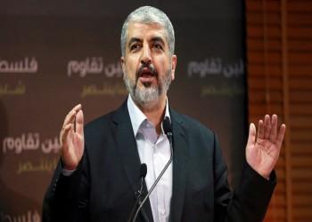 """""""خالد مشعل"""": الخلاف العربي سبب التعجيل بـ""""صفقة القرن"""" (فيديو)"""