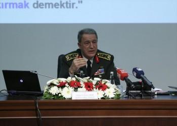 وزير الدفاع التركي: تدريبات مع قوات أمريكية بمنبج قريبا