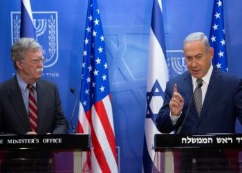 """""""نتنياهو"""" و""""بولتون"""" يدعوان أوروبا لتكثيف الضغوط على إيران"""