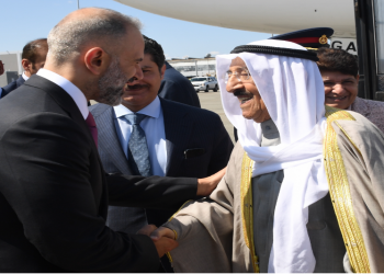 أمير الكويت يصل إلى الولايات المتحدة في زيارة خاصة