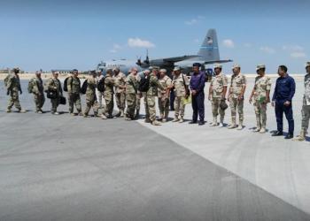 """قوات أمريكية تصل مصر للمشاركة في مناورات """"النجم الساطع"""""""