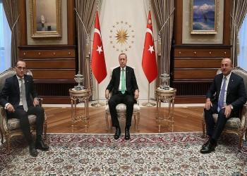 """""""أردوغان"""" يستقبل وزير الخارجية الألماني في أنقرة"""