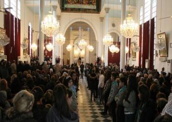 منذ 30 عاما.. افتتاح أول كنيسة في عين العرب