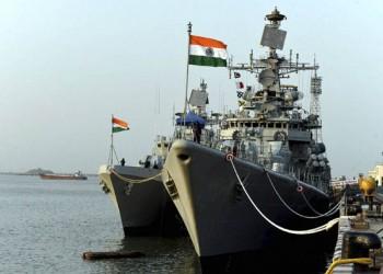 المدمرة مومباي الهندية تصل الدوحة لتنفيذ تدريب مشترك