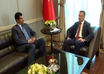 نائب الرئيس التركي يجري مباحثات مع السفير القطري