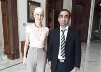 بالصور.. هكذا أصبحت زوجة الأسد بعد إصابتها بالسرطان