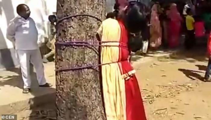 الهند.. جلد فتاة مسلمة قررت الزواج من شاب بوذي
