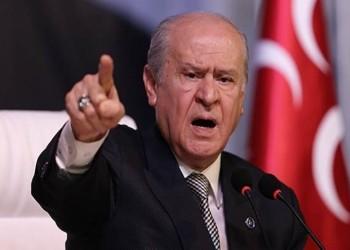 زعيم الحركة القومية: تركيا ليست ساحة لأساليب العصابات