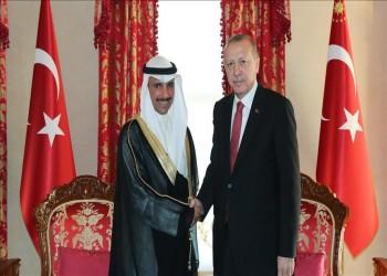 رسالة من الصباح لأردوغان تدعو لحل خلافات المنطقة