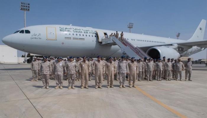 قوات جوية سعودية تصل إلى الإمارات (فيديو وصور)