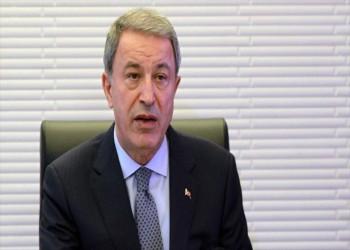 وزير الدفاع التركي: مستعدون لمواجهة أي تهديدات بحرية يونانية