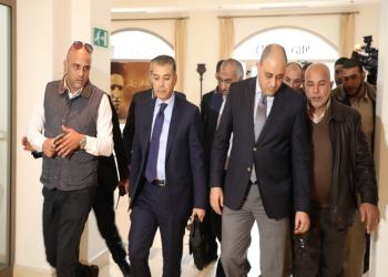 وفد أمني مصري يتوجه إلى الضفة بعد زيارة قصيرة لغزة